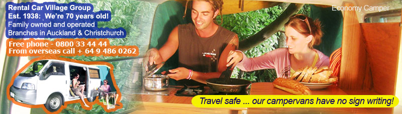 Quality Campervan Hire New Zealand, Camper van hire nz